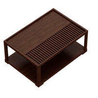 Chinese style solid wood tea table